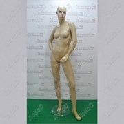 Манекен женский 180см, черный глянец, JSW-7 фото