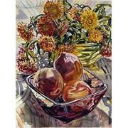 "Картина ""Натюрморт с фруктами"" 51х61 фото"