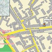 Электронная бизнес-карта. Украина и Крым фото