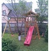 Сборка и доставка детских игровых комплексов для дачи и улицы фото