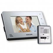 Комплект видедомофона цветной Kocom KCV-A374 фото