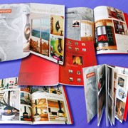 Каталоги, журналы, брошюры фото