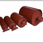 Комплектующие для конвейеров: барабаны приводные, натяжные, обводные; ролики конвейерные, корпуса подшипников, роликоопоры фото