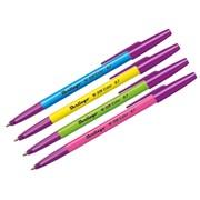 Ручка шариковая W-219 Color, синяя, 0,7 мм, ассорти, (BERLINGO) фото