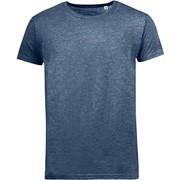 Футболка мужская MIXED MEN темно-синий меланж, размер S фото
