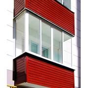 Утепленные балконов фотография