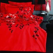 Постельное белье Pierre Cardin Sonia красный фото