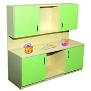 Кухня детская купить 1200х400х1050 мм, Код: 2580, Мебель детская игровая, Детские кухни. фото