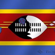 Флаг национальный Свазиленд фото