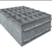 Форма металлическая для производства блоков Люкс-1, на 30 блоков фото