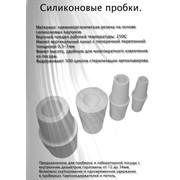 Пробка силиконовая ПС-19 (двухконусная, для посуды диам.17-21мм) фото