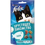 Felix 60г Хрустящее лакомство Рыба фото