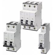 Модульные автоматические выключатели Siemens 5SY на токи 0,3...63 А и 5SP на токи 80…125 А фото