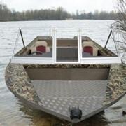 Лодка алюминиевая фото