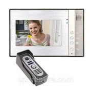 """Комплект монитор 7""""+ панель домофона. Видеодомофон InterVision..KCV-A370 -MC70 фото"""