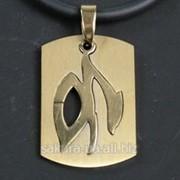 "Кулон ""Zodiacus Gold"" / 10. Козерог t30530 фото"