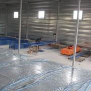 Монтаж стеллажного оборудования. фото