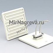 Керамический инфракрасный нагреватель SFSE 150 Вт/ 230 В, 122*122*24 мм, провод 100 мм фото