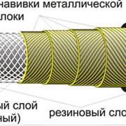 Рукава резиновые высокого давления с металлическими навивками неармированные ГОСТ 25452-90; DIN 20023; ТУ 38605111-90 фото