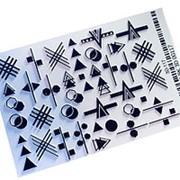 Anna Tkacheva, 3D-слайдер №117, черный «Геометрия. Фигуры» фото