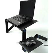 Столик для ноутбука с вентилятором. фото
