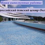 Монтаж Промышленного бетонного пола фото