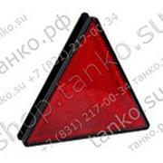 Светоотражатель треугольный на винтах фото