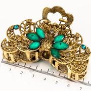 Краб бронзовый с цветными камнями (7 см.) 213160(24) фото