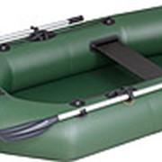 Надувная одноместная гребная лодка Kolibri К-220 серия Стандарт без настила фото