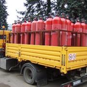 Доставка газа в баллонах фото