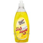 Жидкость для мытья посуды well done lemon essence 500 мл фото