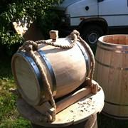 Бочки дубовые для различных напитков, 5л фото