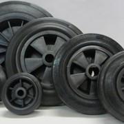 Промышленные колёса и ролики фото
