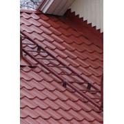 Комплект лестница кровельная BORGE (металлочерепица, профнастил, материалы на основе битума) 3 м фото