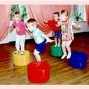 Купить Пуфик АЛ 218, Пуфик в садик, пуфики для детского сада купить. фото