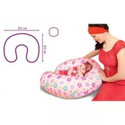 Антистрессовая подушка для кормления С-образная фото