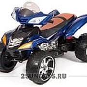 Детский электроквадроцикл BARTY Quad Pro синий фото