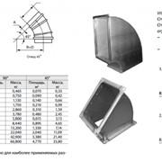 Отводы системы вентиляции фото