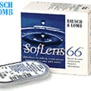 Линзы контактные для дневного и продленного ношения комфорт-класса SofLens 66 фото