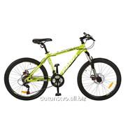 Велосипед 26д. G26A316-1 зелены 135-18,5-72см фото