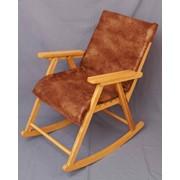 Кресло-качалка дубовое