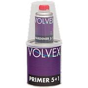 Грунт акриловый 2К 5:1 Filling Primer Volvex 0.8л + отвердитель 0.16л серый 34459336 фото