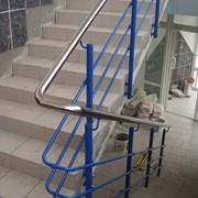 Ограждения лестниц: нержавеющая сталь, сталь с полимерным покрытием фото