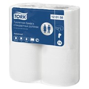 Туалетная бумага в стандартных рулонах Tork фото
