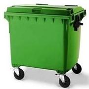 Евроконтейнер для мусора 1,1 м.куб фото