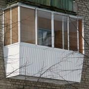 Застекление балкона Борщаговка