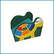 Мягкая игровая горка Черепаха фото