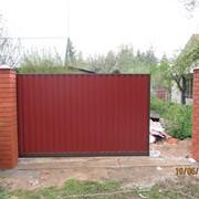 Каркас ворот ст.80х80 4м. фото