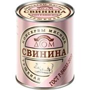 Свинина тушёная ГОСТ 1/с Любимый Дом Р-54033 фото