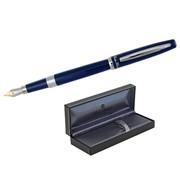 Ручка перьевая Prestigio, в футляре, синий лакир. корп. (FLAVIO FERRUCCI) фото